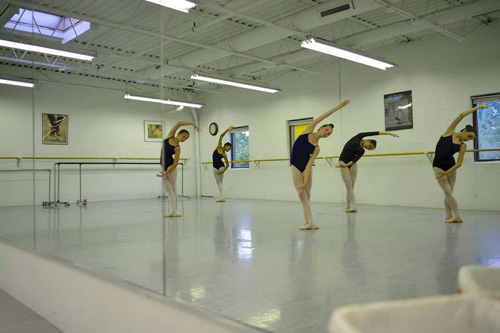 Maryland Youth Ballet Practice