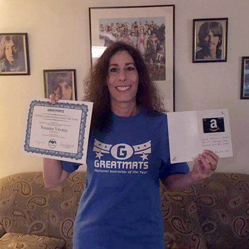 Rosanne Vavasis - 2015 Greatmats National Dance Instructor of the Year