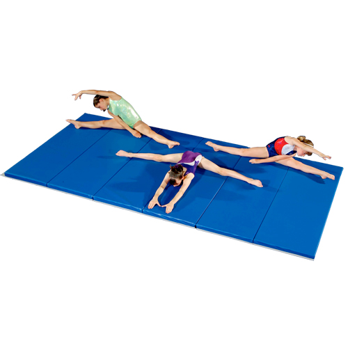 Gymnastic Mats 6x12 Ft X 1 5 Inch V2 18 Oz Folding Gym Mats