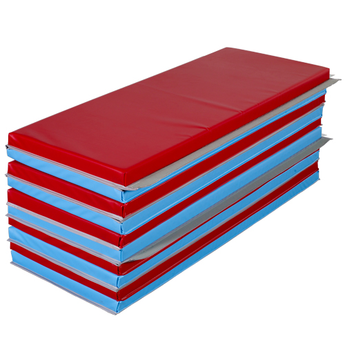 Gym Mats 4x8 Ft X 1 5 Inch V2 18 Oz Folding Gym Mats