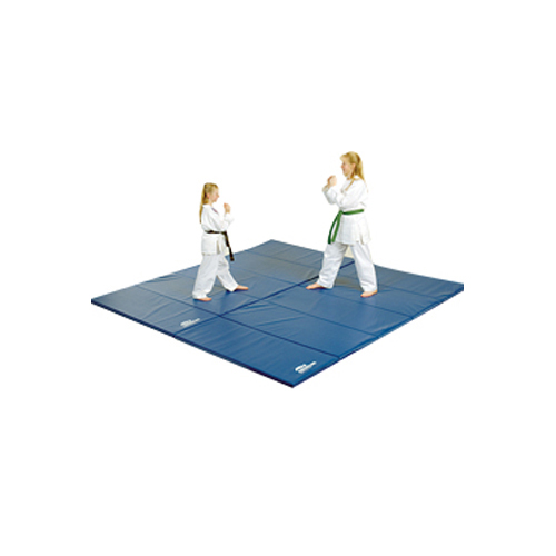 Gymnastic mats for martial arts.