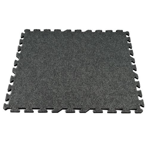 2f627b4b6230 Designer Pinstripe Interlocking Carpet Tile 10x10 ft Kit Full Tile