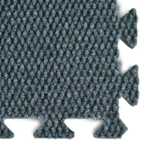 0ca83b87d700 Designer Weave Interlocking Carpet Tile 20x20 ft Kit Interlock Deep Ocean