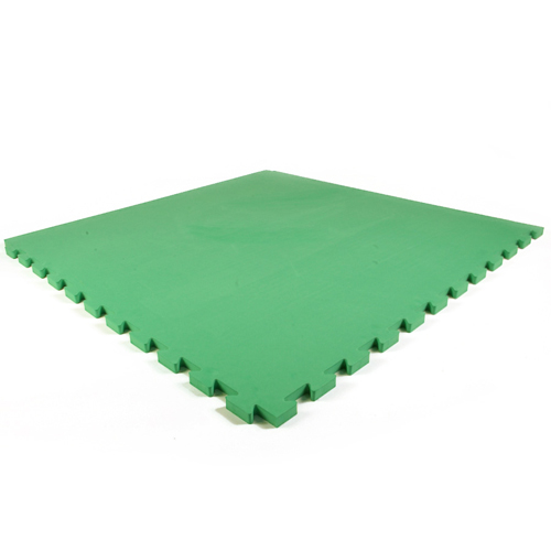Dog Agility Mats Interlocking Tiles green tile.