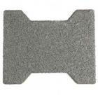 Dog Bone Outdoor Paver Tiles 1.75 Inch Gray thumbnail