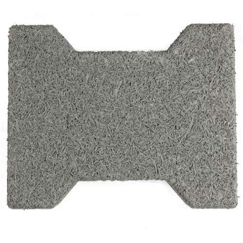 Dog Bone Outdoor Patio Tiles gray dog bone.
