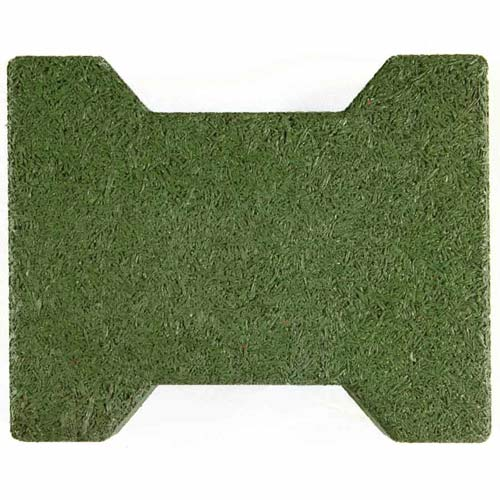 Dog Bone Outdoor Patio Tiles green dog bone.