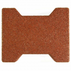 Dog Bone Outdoor Paver Tiles 1.75 Inch Terra Cotta