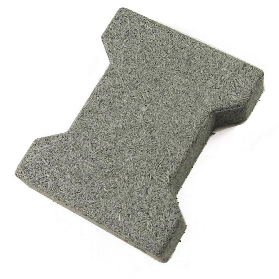 Dog Bone Outdoor Patio Tiles Gray Dog Bone