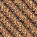 Dominator LP Carpet Tiles cognac color swatch.