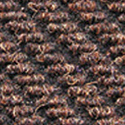Dominator LP Carpet Tiles rootbeer color swatch.