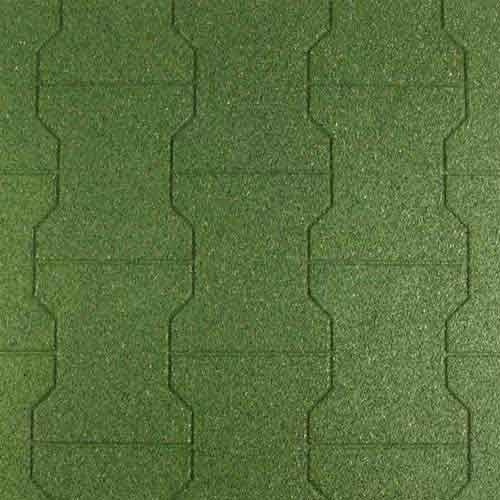 Equine Paver Tile 2x2 Ft 5/8 Inch All Colors Green Tiles.