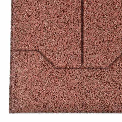 Horse Equine Rubber Paver Tiles Terra Cotta Horse Stall