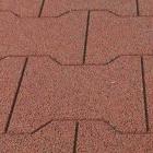 Equine Paver Tile 2x2 Ft 5/8 Inch Terra Cotta