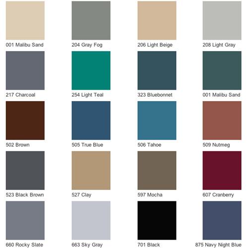 Endura Solid Color Rubber Tile Commercial Tiles