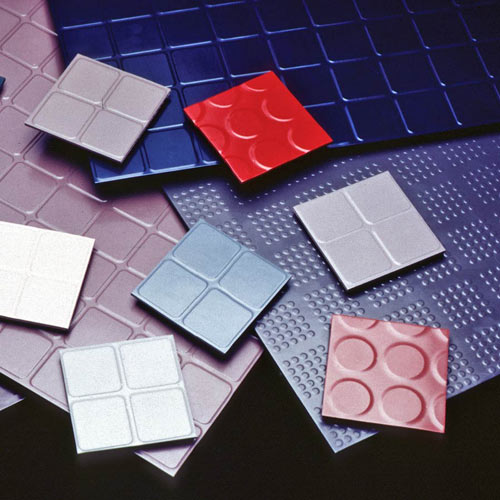 Endura Solid Color Rubber Tile Commercial Rubber Tiles
