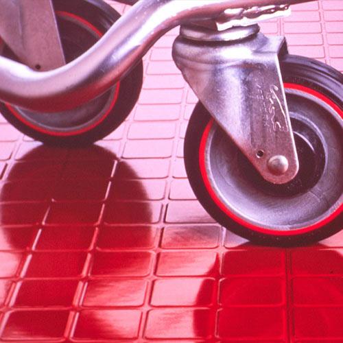 Endura Solid Color Rubber Tile Commercial Rubber Tiles