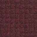 Brush Hog Plus Indoor Outdoor Entrance Mat 32x55 inches burgundy swatch.