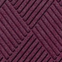 Waterhog Fashion Diamond Indoor Outdoor Entrance Mat 35x46 inches bordeaux.