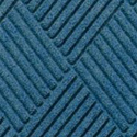 Waterhog Fashion Diamond Indoor Outdoor Entrance Mat 35x46 inches medium blue.