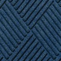 Waterhog Fashion Diamond Indoor Outdoor Entrance Mat 35x46 inches navy-blue.