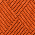 Waterhog Fashion Diamond Indoor Outdoor Entrance Mat 35x46 inches orange.