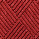 Waterhog Fashion Diamond Indoor Outdoor Entrance Mat 35x46 inches solid red.