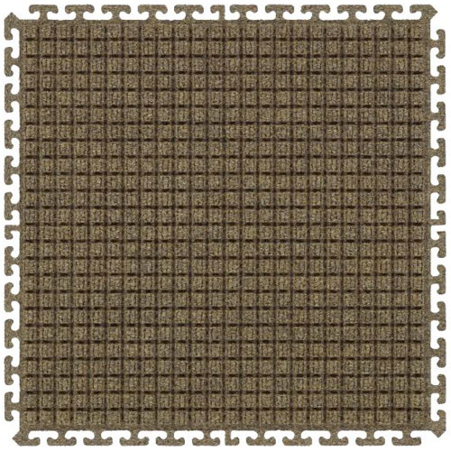 Waterhog Modular Tile Square Corner Border 18 inch border middle.