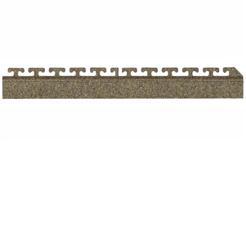 Waterhog Modular Tile Square Corner Border 18 inch side border.