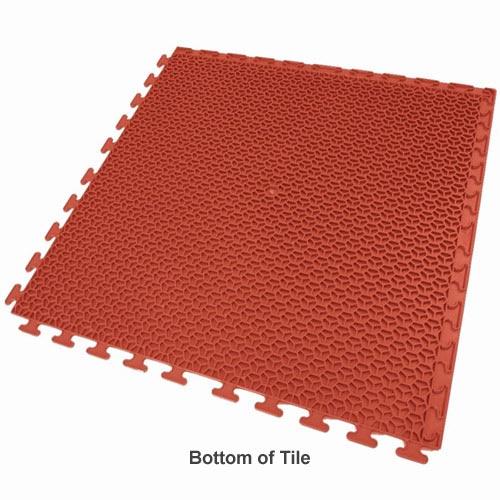 Exelia Flooring Tile Full Red Bottom.