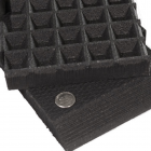 Anti Fatigue Waffle Bottom Rubber Tile All Sizes