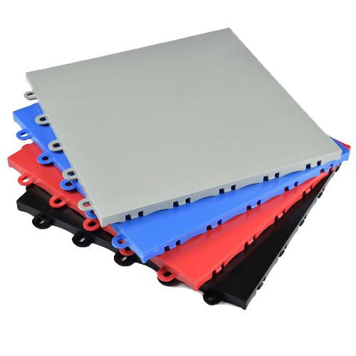 Court Floor Tile Flat Top Stack 4 Colors