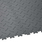 SupraTile 4.5 mm Diamond Pattern Black / Grays