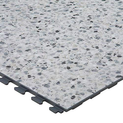 Supratile Design Series Floor Tile Heavy Duty Slate Or