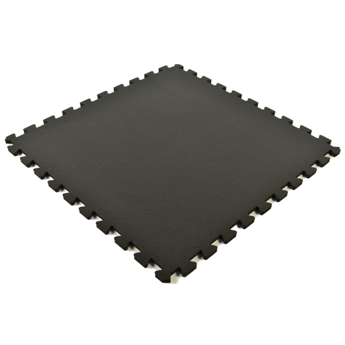 Foam Floor Tiles Sport Designer showing one black tile.