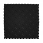 Diamond Plate Tile Black or Dark Gray 8 tiles thumbnail