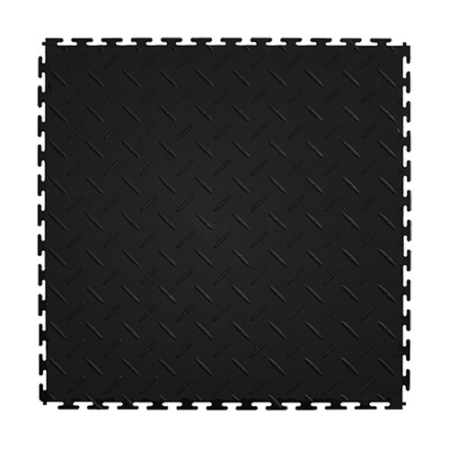 Diamond Top Tile Black or Dark Gray 8 tiles showing black tile.