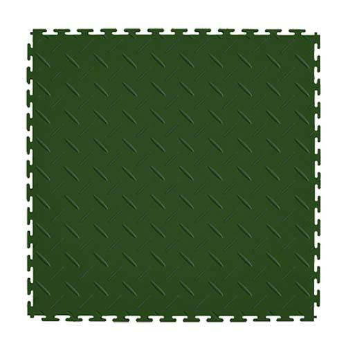 Diamond Plate Tile Garage Floor