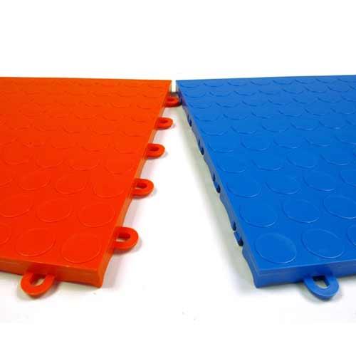 Garage Floor Tile Coin Top Plastic Garage Floor