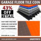 Garage Floor Tile Coin