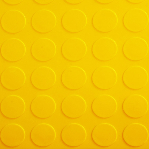 Garage Floor Tile Coin Yellow Coin