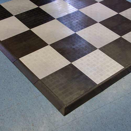 Modular Flooring Tiles Garage Diamond Top