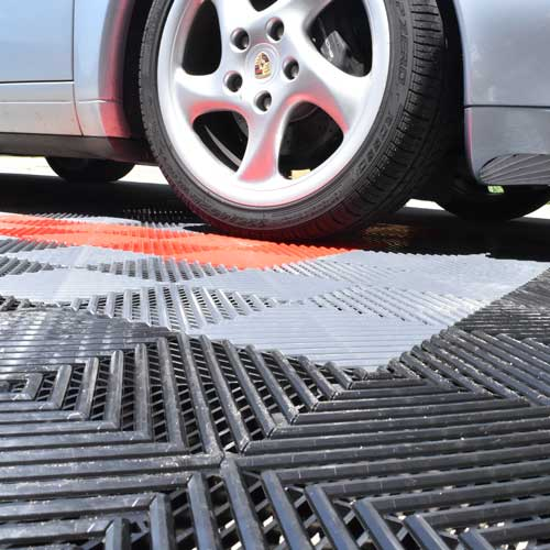 Perforated Garage Flooring Tiles