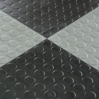 HiddenLock Coin Floor Tile Black