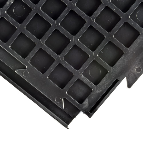 HiddenLock Coin Floor Tile Black bottom.