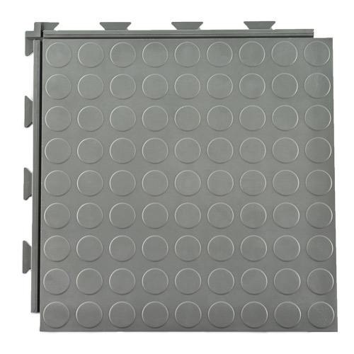 hiddenlock coin floor tile gray full