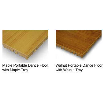 Commercial LVT portable dance flooring with durable surface wear layer
