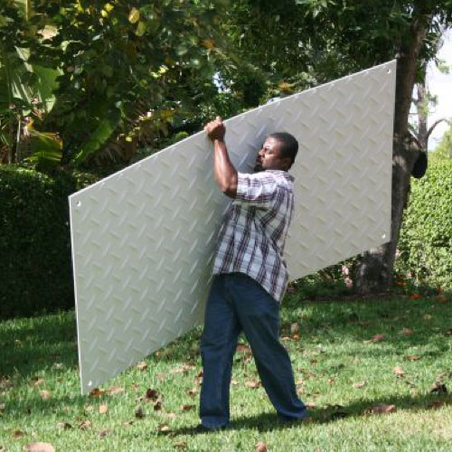 Ground Protection Mats 4x8 ft one person