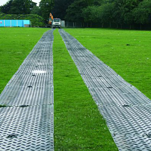 Mat Pak Ground Protection 3x8 Ft Black Alturnamats