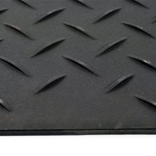 Ground Protection Mats 2x6 ft Black diamond edge
